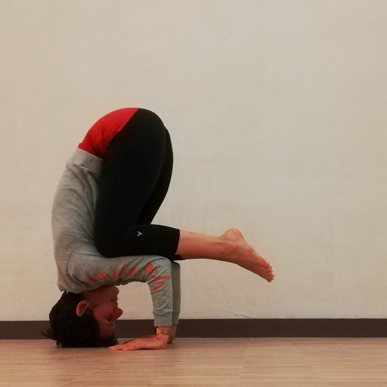 Yoga Asana Clown