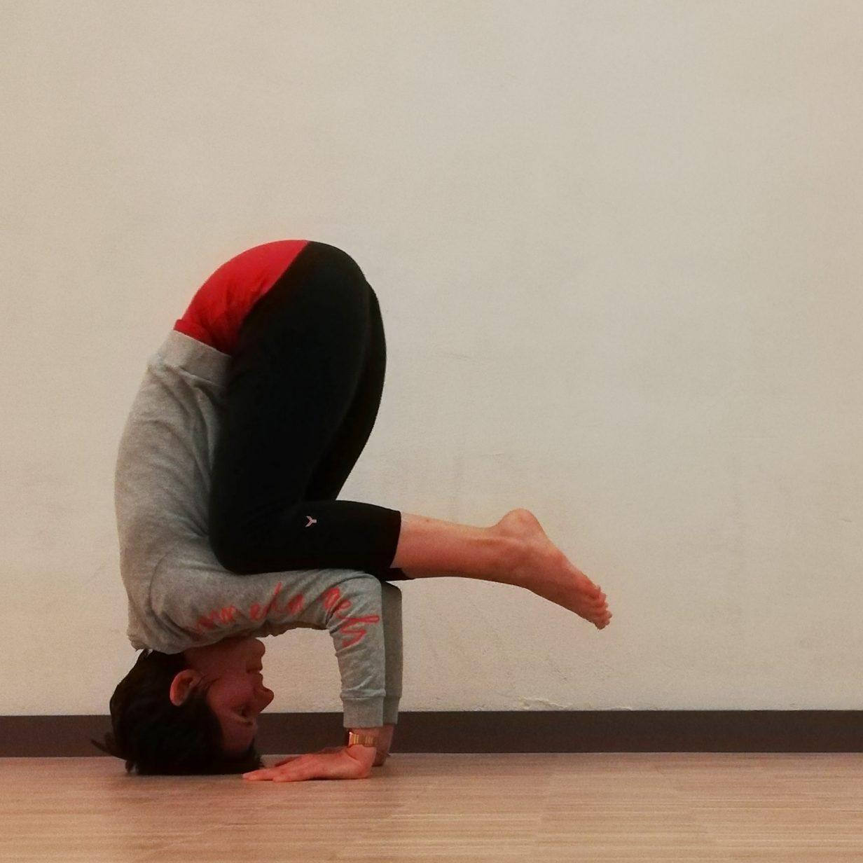 Yoga Asana Clown